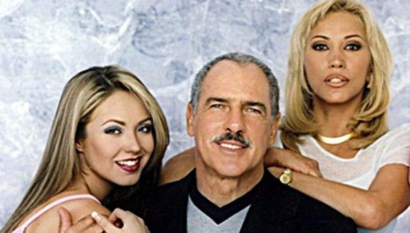 """Andrés García y Anahí compartieron rol en la telenovela """"Mujeres engañadas"""" en 1999 (Foto: Televisa)"""