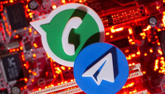 Desde que WhatsApp anunció los cambios en sus políticas de uso, millones de usuarios han migrado rumbo a otras apps como Telegram. (Foto: Reuters)