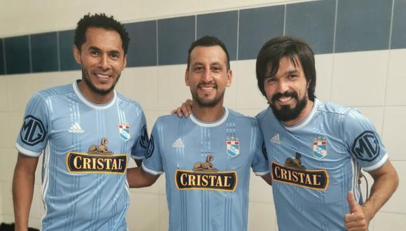 Los últimos referentes de Sporting Cristal se juntaron en una foto histórica a inicios del 2020. (Foto: Sporting Cristal)