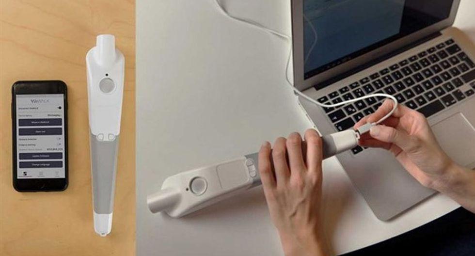 Lanzan un bastón que es capaz de conectarse con Google Maps y guiar a las personas con discapacidad visual. (Foto: WeWalk)