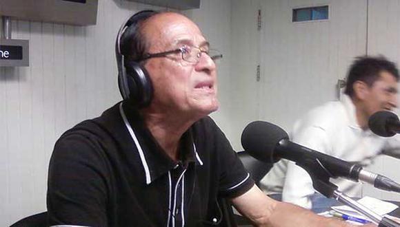 Juan Iglesias Menéndez fue un destacador narrador deportivo en el fútbol peruano y polideportivos (Foto: Radio Ovación)
