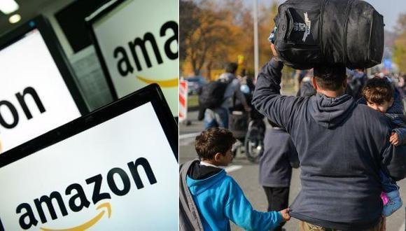 Amazon dará a refugiados ingresos por himno antiinmigrantes