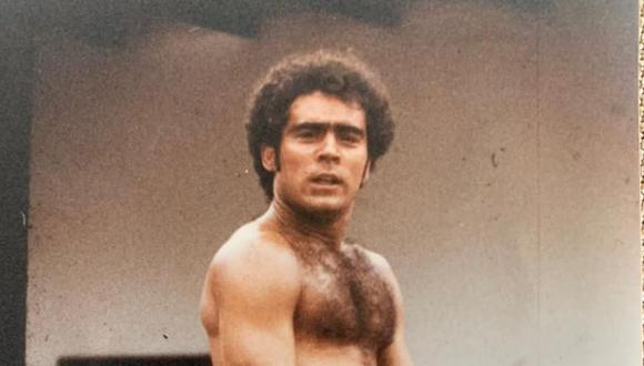 """Rafael Cabrera como José Manuel en """"Matalaché"""", serie que emitió Frecuencia Latina en 1988. (Foto: Eduardo Guillot)"""