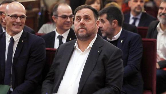 El ex presidente catalán, Oriol Junqueras. (Foto: Getty images, BBC Mundo)