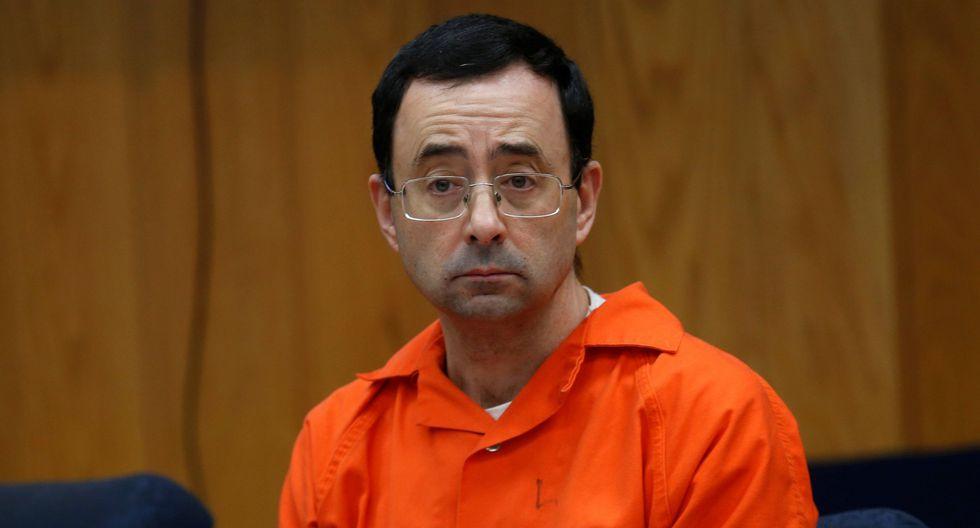 Larry Nassar, de 54 años, fue sentenciado a entre 40 y 175 años de prisión por violencia sexual (Foto: Reuters).