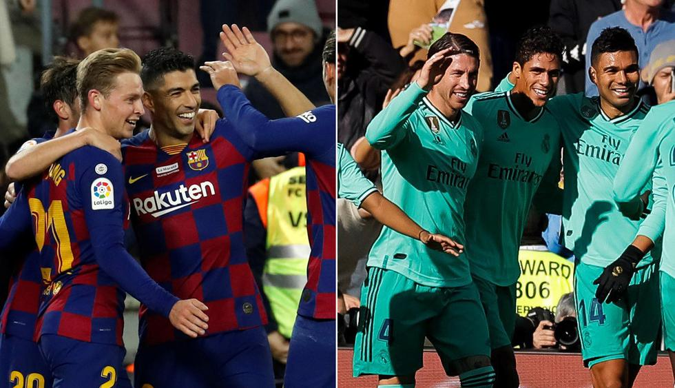 Conoce los posibles equipos titulares de Barcelona y Real Madrid para el Clásico de España. (Fotos: EFE)