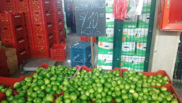 Limón bajó de precio: conoce los costos en el Mercado Mayorista