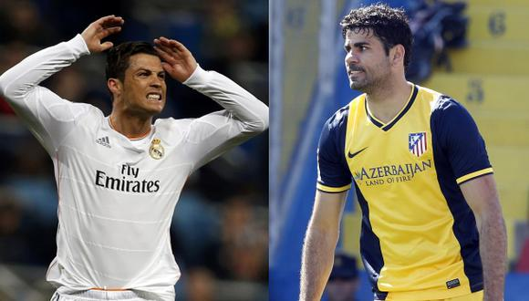 Cristiano y Diego Costa: ¿jugarán la final de la Champions?