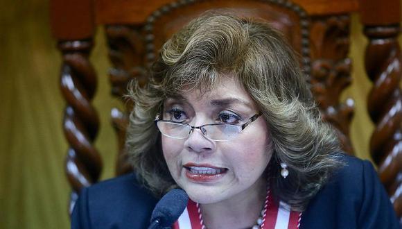 """Zoraida Ávalos también criticó la """"invitación bajo amenaza"""" que le envió la Comisión de Justicia del Congreso. (Foto: Difusión)"""