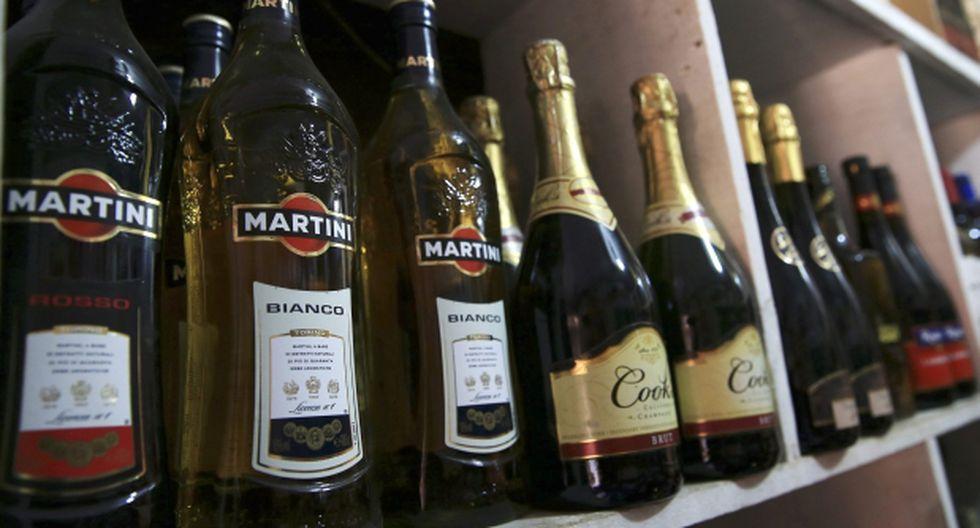 Los menús mostrarán calorías de bebidas alcohólicas