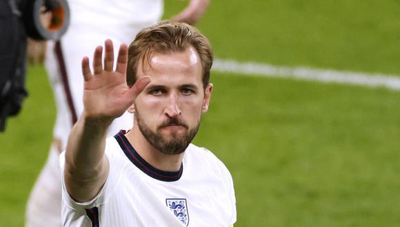 Harry Kane anotó cuatro goles en la Eurocopa 2021. (Foto: Reuters)