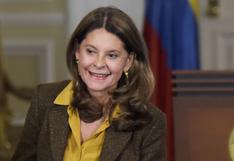 La vicepresidenta de Colombia, Marta Lucía Ramírez, anuncia que contrajo coronavirus