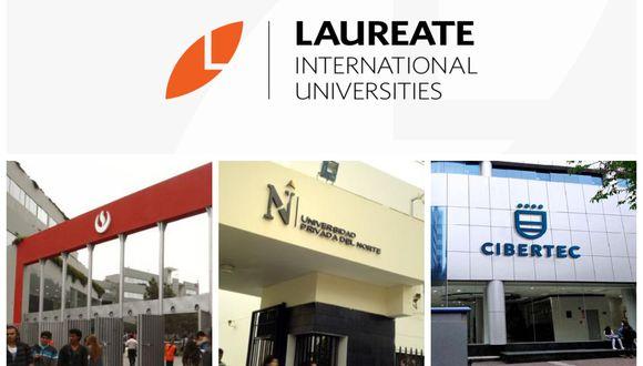 Laureate International Universities  tiene como sus negocios en el país a la Universidad Peruana de Ciencias Aplicadas (UPC), la Universidad Privada del Norte (UPN) y el instituto Cibertec.