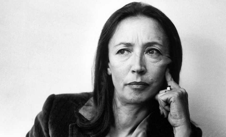Memorias de la intensa vida de Oriana Fallaci