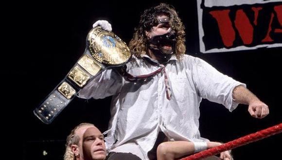 El personaje de Mankind, ionterpretado por Mick Foley, fue clave en la denominada 'Era Acttitude' de la WWE. (Foto: WWE)