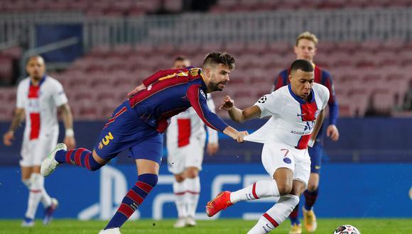 """Kylian Mbappé minimizó el resultado frente al Barcelona: """"No hemos ganado nada"""""""
