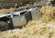 Ayacucho: un desaparecido y tres vehículos dañados deja el desborde del Río Piene en Tutumbaro