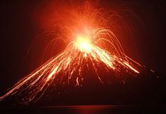 El Krakatoa habría activado el Anillo de Fuego en el que están otros 15 volcanes