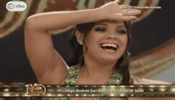 Gisela incomodó a Andrea San Martín con inesperado comentario