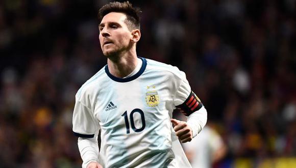 Lionel Messi y Gonzalo Martínez no estarán disponibles para el choque de Argentina ante Marruecos. (Foto: AFP)