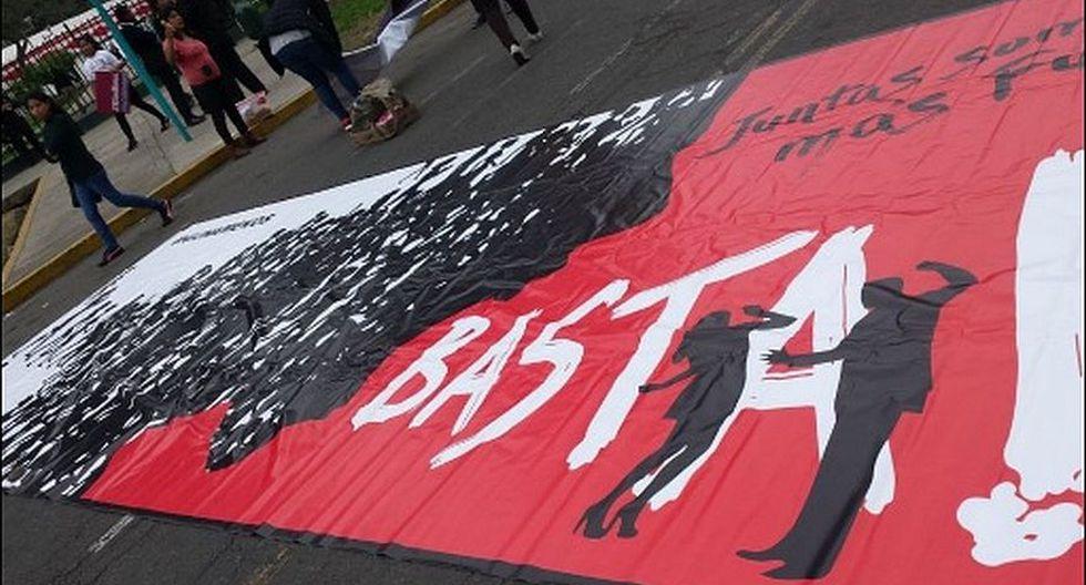 #NiUnaMenos: imágenes de la concentración pre marcha [FOTOS] - 6