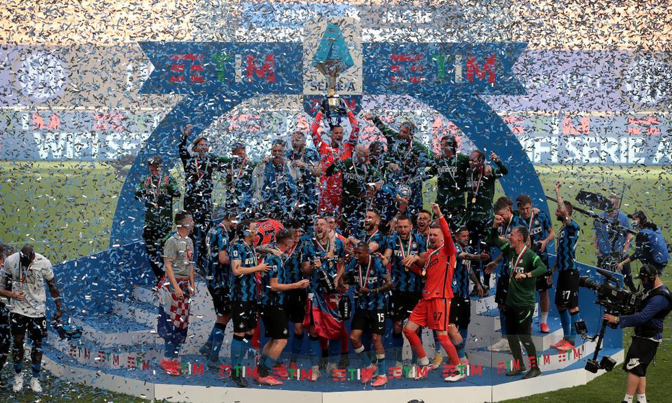 Celebración del Inter de Milán con el Scudetto | Foto: @Inter_es