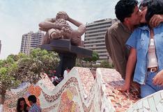 Día del Amor: ¿qué pasó en la inauguración del parque y la estatua del amor en los años 90?