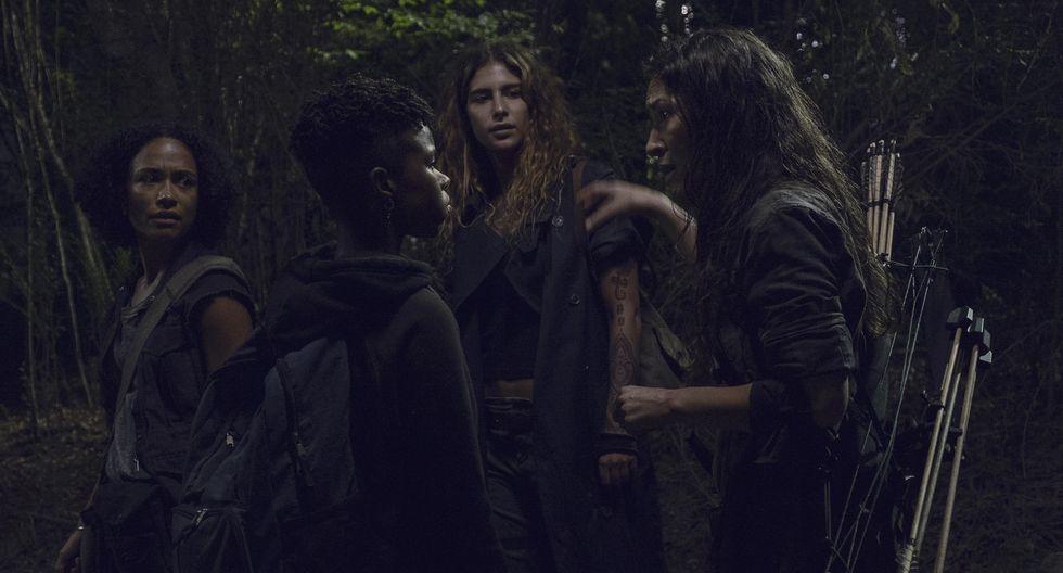 """""""The Walking Dead"""" 9x10 reveló sus primeras fotos, que incluyen un flashback a los primeros días del apocalipsis zombie. Foto: Fox."""