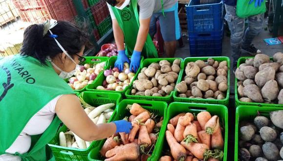 La campaña #UnidosenCasa contempla cuatro formas de donaciones. (Foto: Banco de Alimentos Perú)