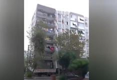 """""""Horrible"""": los impactantes videos del potente terremoto en Turquía y Grecia"""