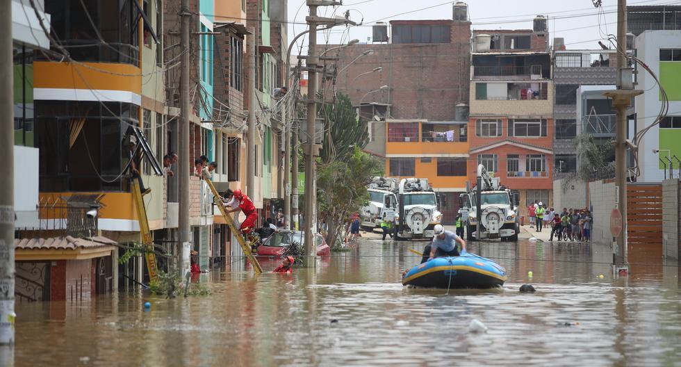 En dos años se han registrado cuatro aniegos en el distrito de San Juan de Lurigancho producto del colapso de las tuberías de desagüe. (Foto: Giancarlo Avila / GEC)