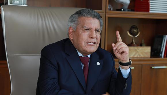 César Acuña aseguró que lo publicado sobre sus supuestas reuniones con Vladimiro Montesinos son mentiras. (Foto: GEC)