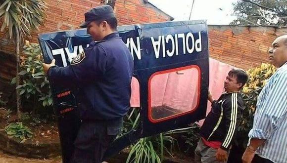 Robo del siglo: Helicóptero policial se desarmó en pleno vuelo