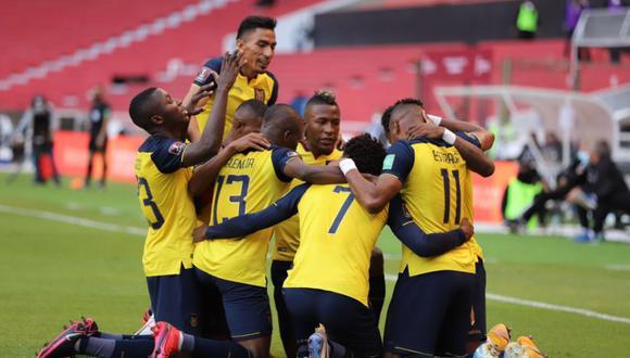 Ecuador sumó su primera victoria en las Eliminatorias Qatar 2022 al derrotar 4-2 a Uruguay en Quito | Foto: @LaTri