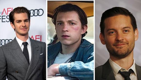 """Tom Holland negó que sus antecesores Tobey Maguire y Andrew Garfield harán una aparición en la secuela de """"Spider-Man: Far From Home"""". (Foto: Angela Weiss / Valerie Macon / AFP/ Instagram: @tomholland2013)."""