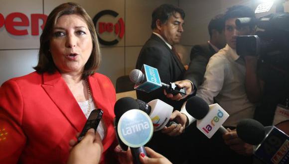 Canciller Eda Rivas afirma que sus pronunciamientos son claros