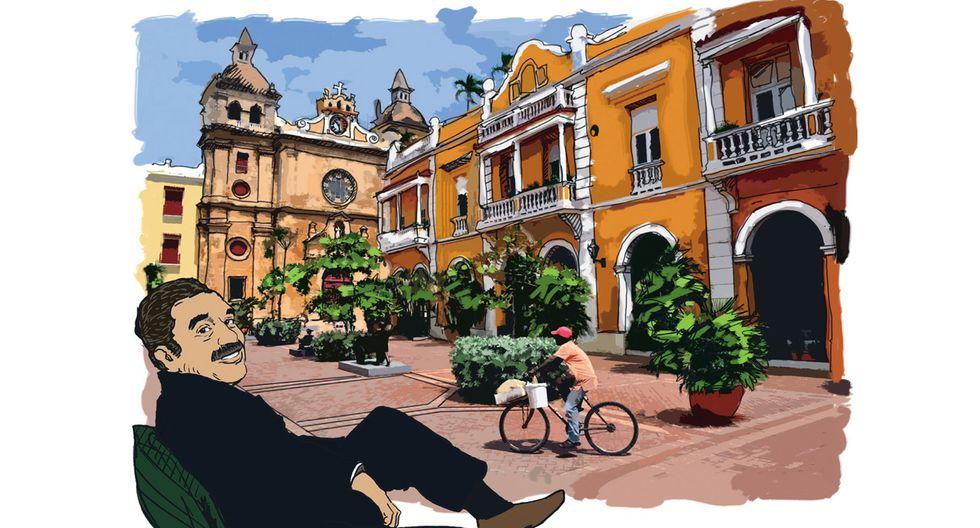 Descubre la ruta de 'Gabo' en Cartagena
