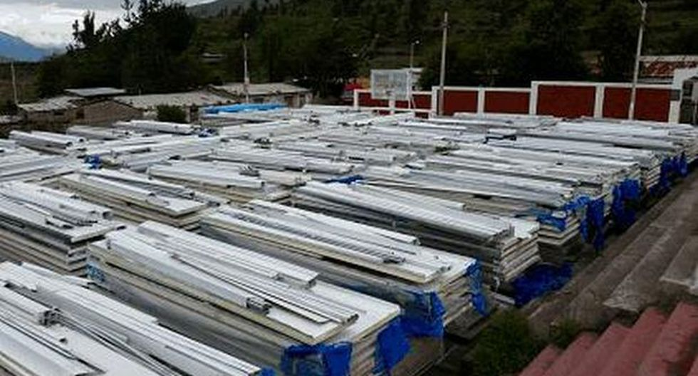 Ubinas: módulos de vivienda no instalados están en mal estado