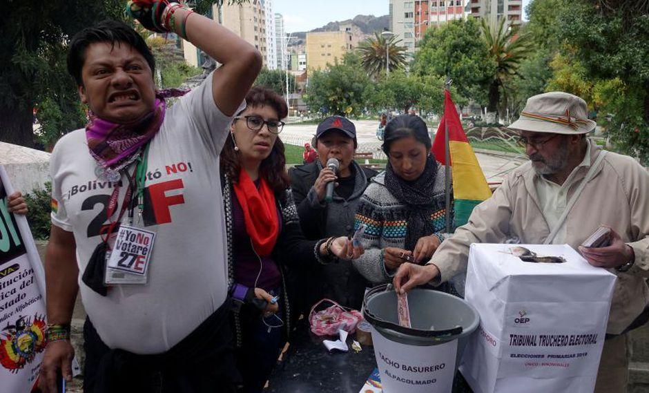 Bolivia: Opositores califican las elecciones primarias de atentado y ridículo mundial. (Reuters)