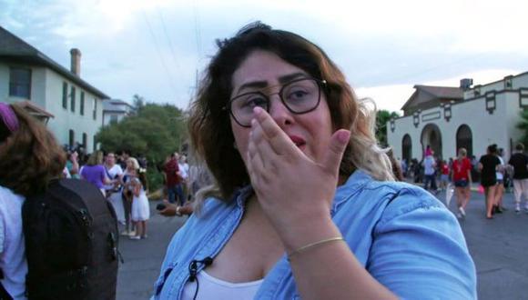 """""""Nunca antes había tenido miedo de ser latina, pero ahora sí"""", confesó Ivonne Díaz con lágrimas en los ojos."""