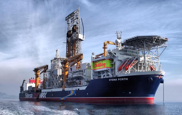 La perforacion del lote Z-38 fue posible gracias a la importación de un barco especial, traído desde Guyana por Tullow. El Stena Forth ejecutó  el pozo submarino más profundo en la historia del país a inicios del 2020. Lamentablemente, no halló petróleo (Tullow).