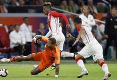 Perú no sostuvo el rendimiento y cayó ante Holanda por fecha FIFA