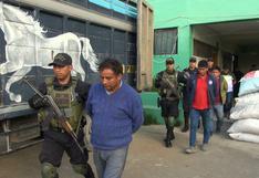 Huancavelica: detienen a cuatro personas que trasladaban insumos químicos para elaborar cocaína
