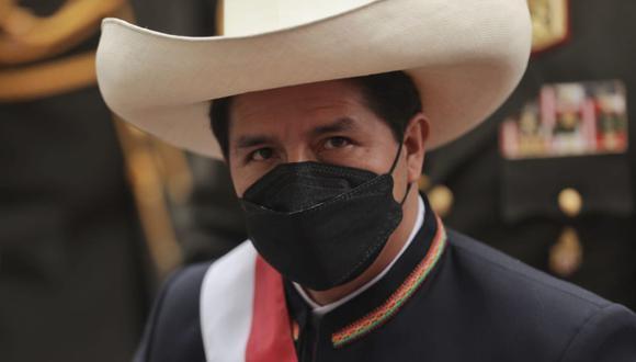 El presidente Pedro Castillo anunció que durante su gobierno realizará cambios en la regulación de la publicidad estatal, y se dará prioridad a medios de provincias y redes   Foto: Anthony Niño de Guzmán/ @photo.gec