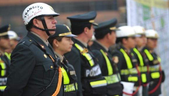 ¿Cuáles son los distritos con menos policías en Lima?