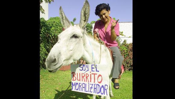 Nora Bonifaz postuló al Congreso en el 2001 por Somos Perú. A esa época corresponde esta imagen. Luego salió elegida como parlamentaria andina suplente por Perú Posible en el 2011. (Foto archivo El Comercio)