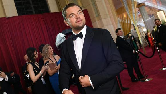 """Leonardo DiCaprio llevará a la TV """"Island"""", la utopía de Aldous Huxley. (Foto: AFP/ Valerie Macon)"""