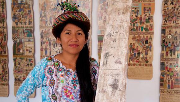 Venuca Evanan, artista visual, ilustradora y heredera de las expresiones artísticas de Sarhua. (Foto: Tabata Matos)