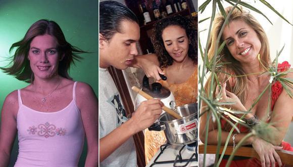 """Daniela Sarfati, Gabriel Calvo, Érika Villalobos y Fiorella Cayo fueron parte de la telenovela """"Torbellino"""". (Fotos: El Comercio)"""