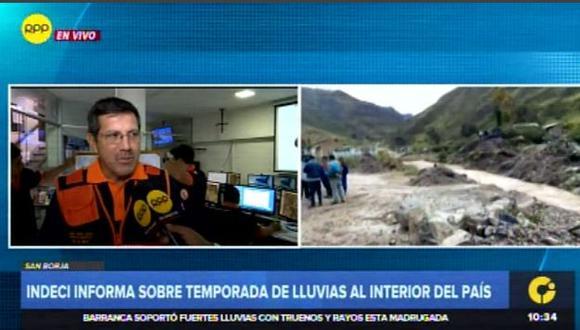 Declararán en estado de emergencia distritos de 5 regiones afectados por lluvias(Captura: RPP Noticias)
